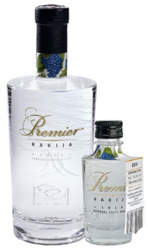 PREMIER RAKIJA HAMBURG GRAPE